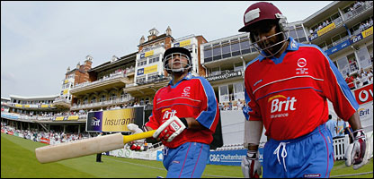 Stars like Sehwag and Lara turned out in the fundraiser at The Oval