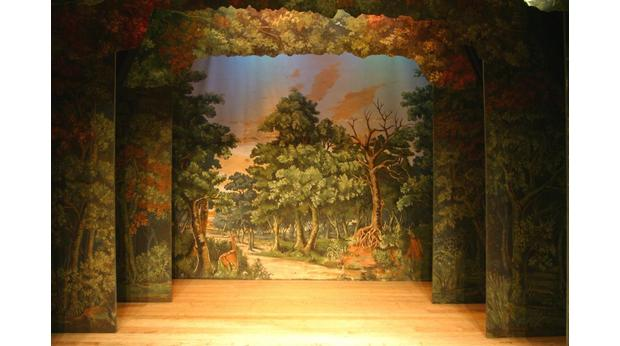 The Woodland Scene (theatre scenery)