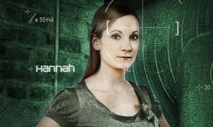 Joanne Froggatt is Hannah
