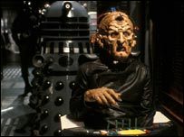 Terry Molloy as Davros in Resurrection