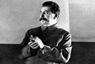 Photograph showing Stalin