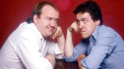 Mel Smith and Griff Rhys Jones in Smith and Jones