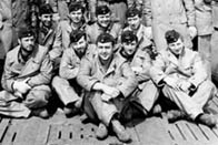 Photograph showing crew members of a German U-boat