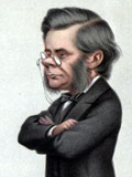 Caricature of Thomas Huxley