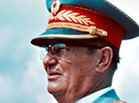 Photograph of Marshal Tito in 1975
