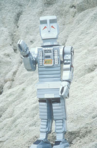 Marvin the paranoid android waving.
