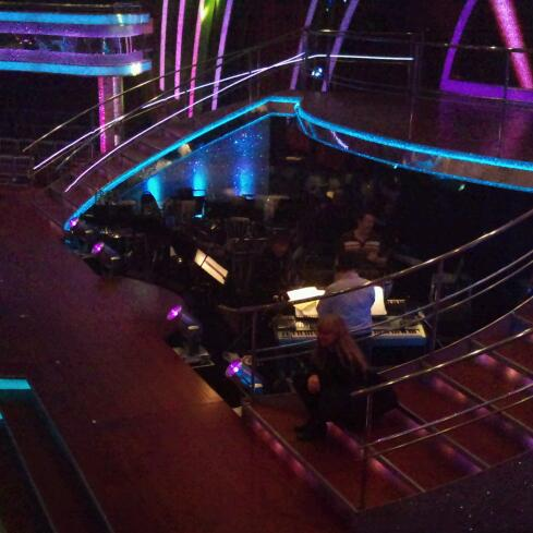 The Strictly house band in dress rehearsal