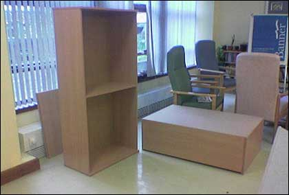 Bbc hereford and worcester features elgar unit for Furniture you put together