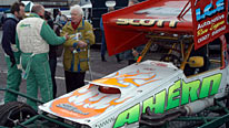 Art critic and fan of stock car racing Brian Sewell
