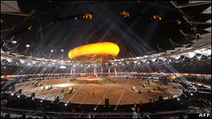 Commonwealth Games opening ceremony in Delhi