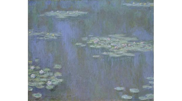 MONET, Claude (1840 - 1926), 'Waterlilies', oil on canvas, 1905. © National Museum Wales