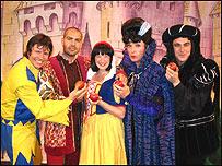 Celebrity pantomimes london