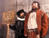 Baldrick and friend