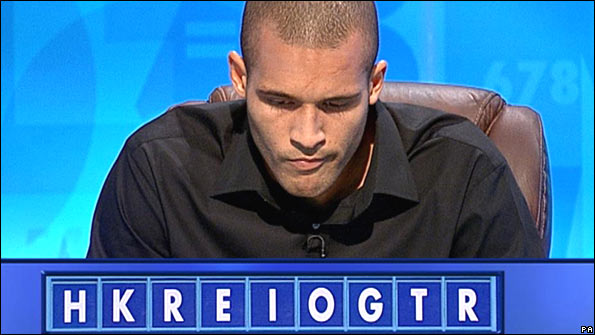 Clarke Carlisle on Countdown