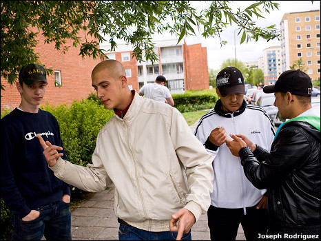 Youths in Malmo, Sweden