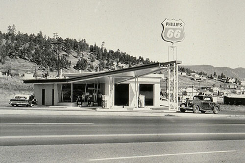 From 'Twenty Six Gasoline Stations', 1962 Ed Ruscha
