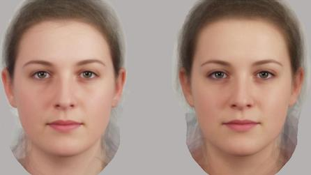 Composite Faces for Extroversion and Introversion