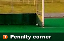 playing the penalty corner