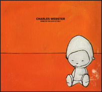 Charles Webster album cover by Jon Burgerman