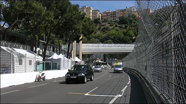 Start / finish straight, Monaco