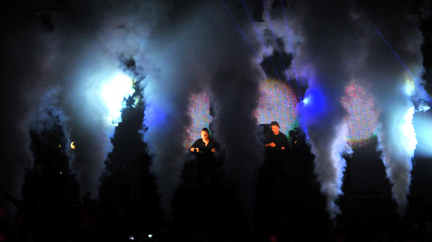 Swedish House Mafia at Big Weekend 2011
