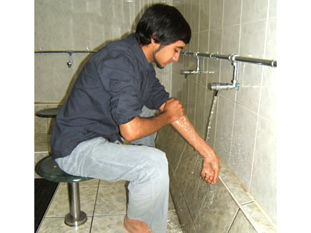 BBC - Religion & Ethics - In pictures: Wudhu ablution
