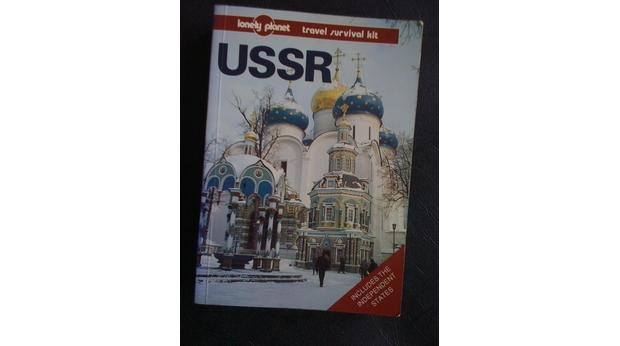 USSR Lonely Planet guide