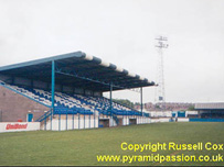 Holker Street ground at Barrow AFC