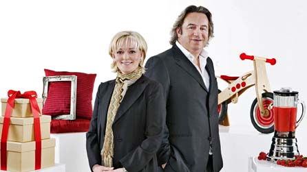Jo Malone and Nick Leslau