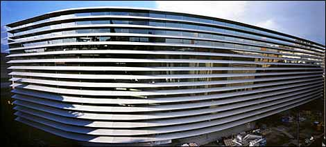 Curve exterior - photo by Richard Brine