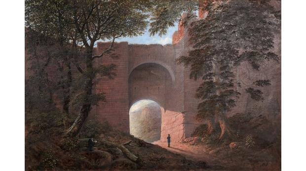 James Nasmyth - Burns at Roslin