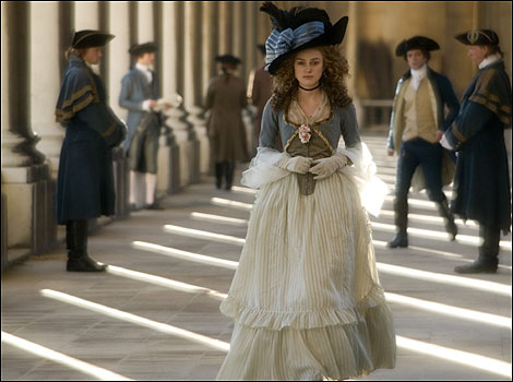 Scene from The Duchess starring Keira Knightley - pic Nick Wall