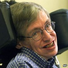 Image of the physicist Stephen Hawking