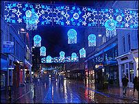 BBC - Birmingham - Christmas 2008 - New Christmas lights shine brightly