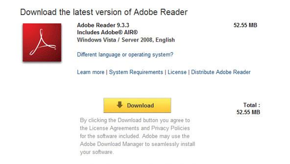 Adobe Reader 9 Free Download Full Version For Vista Facesdk Dll