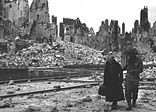 Caen was a D-Day objective, but took more than two months to capture, by which time the town lay in ruins
