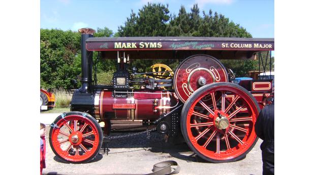 'Cornish Maid' Traction Engine