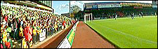 Carrow Road, home of Norwich City Football Club
