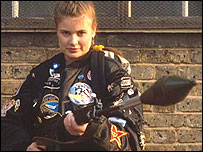 Sophie Aldred as Ace in Remembrance Of The Daleks