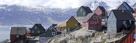 a village in Greenland