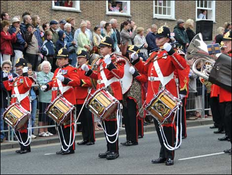 Homecoming parade in Tunbridge Wells