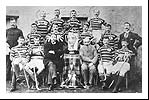 The victorious Kingussie team of 1896