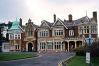 Photograph showing Bletchley Park
