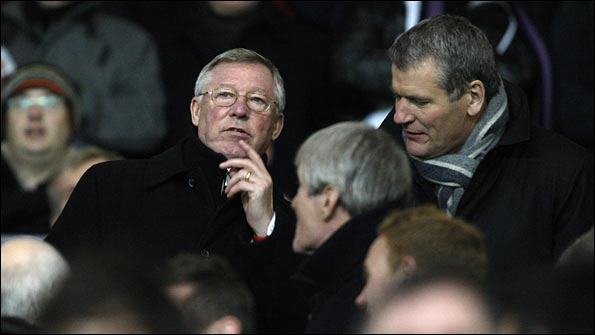 Ferguson loses his cool after United's penalty claims are turned down