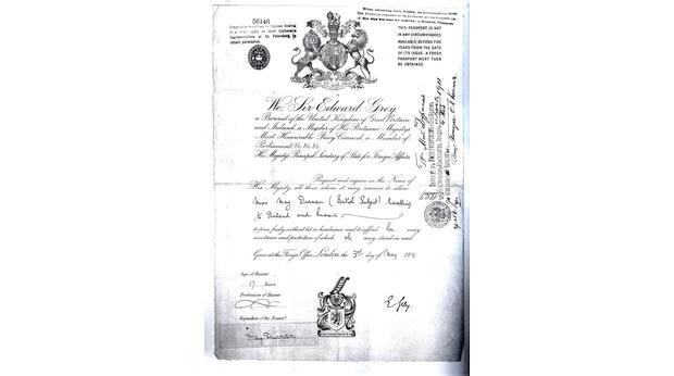My Grandmother's Passport
