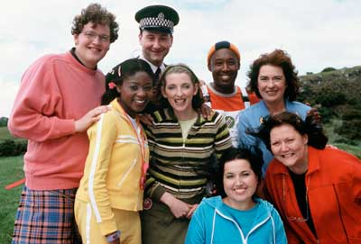 The cast of Balamory