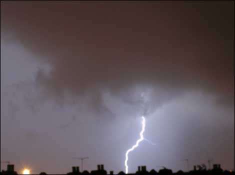Lightning over Fishponds
