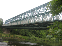Bridge over the River Eden at Langwathby