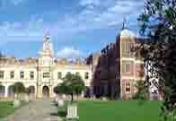 Photograph showing the main part of Hatfield House