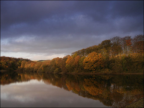 Rivington Reservoir.